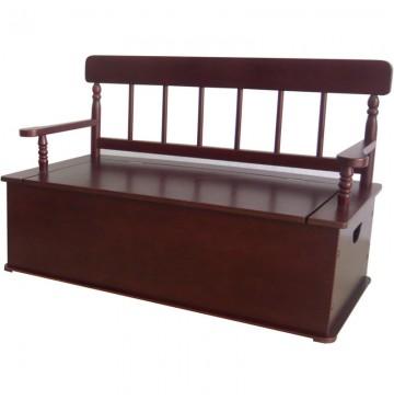 Simply Classic Cherry Bench Seat w/ Storage - LOD33055-360x365.jpg