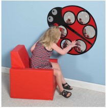 Lily the Ladybug Mirror by Childrens Factory