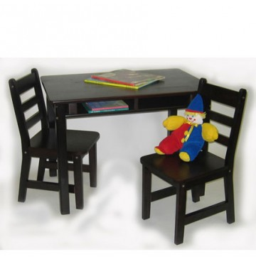Lipper Child's Rectangle Table & 2 Chairs Set - Espresso - Lipper-534E-360x365.jpg