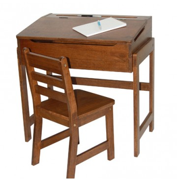 Lipper Slanted Top Desk With Chair in Walnut - Lipper-564WN-360x365.jpg