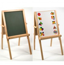 Lipper Two sided Easel & Chalkboard