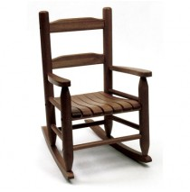 Lipper Child's Rocking Chair - Walnut
