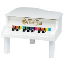 Schoenhut Mini Baby Grand in 18 Key White