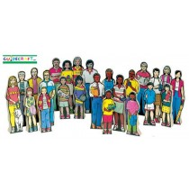 Multi-Cultural Family Set of 24 by Guidecraft