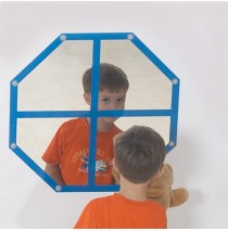 Octagon Windowpane Mirror by Childrens Factory
