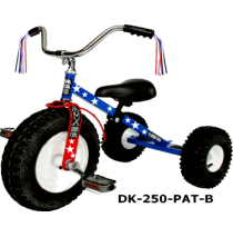 Dirt King Childrens Tricycle Partriot Ages: 3 - 6