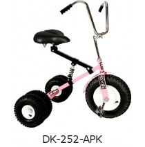 Dirt King Adult Dually Tricycle Pink Ages 10 - Adult