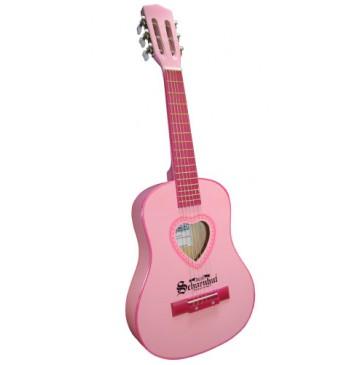 Schoenhut Kids Acoustic 30 inch Guitar in Pink - Pink-Guitar-360x365.jpg