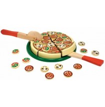 Melissa & Doug Wood Pizza Party Play Food