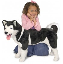 Melissa & Doug - Plush Husky Dog