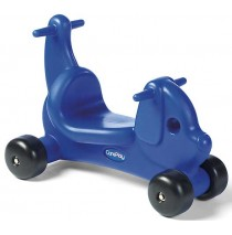 Puppy Dog Ride On Toy & Walker in One Blue by CarePlay