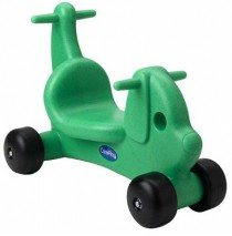 Puppy Dog Ride On Toy & Walker in One Green by CarePlay