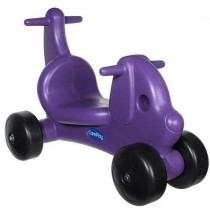 Puppy Dog Ride On Toy & Walker in One Purple by CarePlay