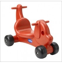 Puppy Dog Ride On Toy & Walker in One Red by CarePlay