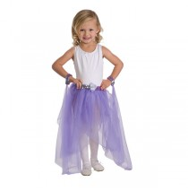 Fairy Tutu Lilac With Wrist Scarves
