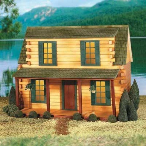 Quickbuild adirondack cabin by real good toys for Adirondack cabin builders