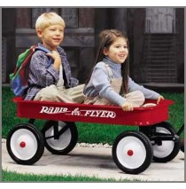 Radio Flyer Classic Red Wagon Model 18