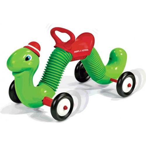 Radio Flyer The Inchworm Ride On Toy By Radio Flyer