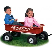 Radio Flyer Big Red Classic ATW Wagon Model 1800
