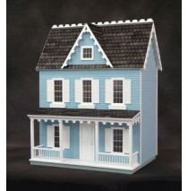 Ready-to-Decorate Farmhouse in Blue