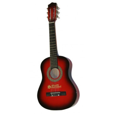 Schoenhut Kids Acoustic 30 inch Guitar in Red and Black - Red-Black-Guiter-360x365.jpg