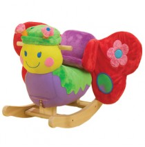 Rockabye Betty Butterfly Rocking Animal
