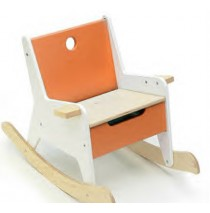 Rockabye Storage Rocker by Offi - Orange
