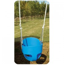 Residential Full Bucket Swing with Rope
