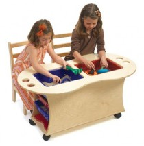 Angeles Sand, Water & Activity Table