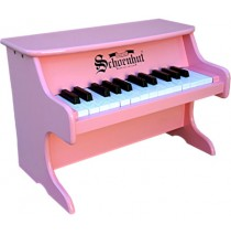 Schoenhut My First Piano II Tabletop 25 Key Pink