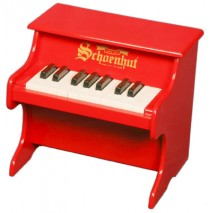Schoenhut My First Piano 18 Key Red