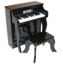 Schoenhut Elite Spinet Toy Piano 25 Key Black