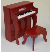 Schoenhut Elite Spinet Toy Piano 25 Key Red
