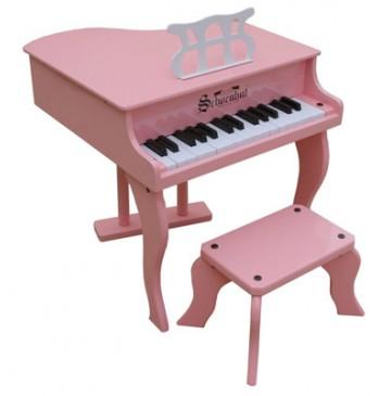 Schoenhut Fancy Baby Grand Toy Piano 30 Key Pink - Schoenhut3005P-360x365.jpg