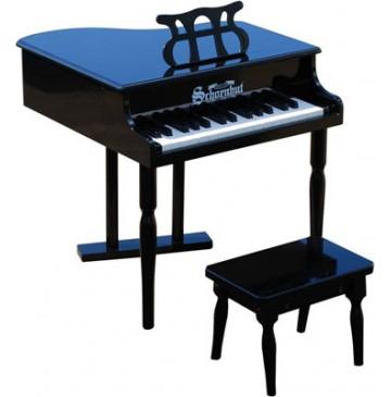 Schoenhut Classic Baby Grand Toy Piano 30 Key Black - Schoenhut309GB-360x365.jpg