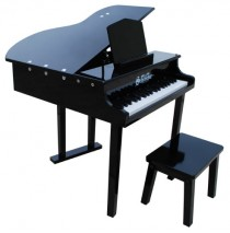 Schoenhut Concert Grand Child Toy Piano 37 Key Black