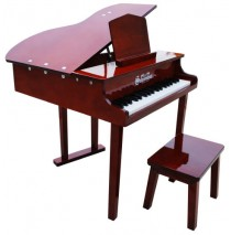 Schoenhut Concert Grand Toy Piano 37 Key Mahogany