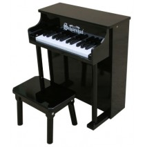 Schoenhut Traditional Spinet Toy Piano 25 Key Black
