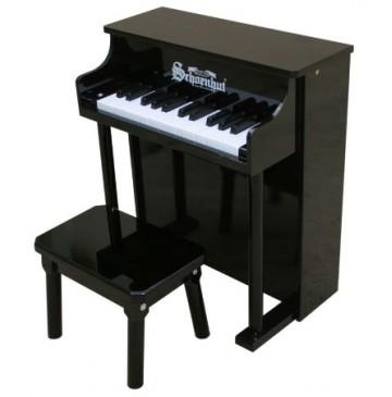 Schoenhut Traditional Spinet Toy Piano 25 Key Black - Schoenhut6625B-360x365.jpg