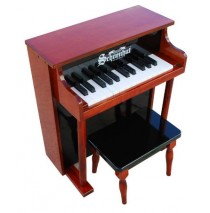 Schoenhut Traditional Spinet Toy Piano 25 Key Mahogany & Black