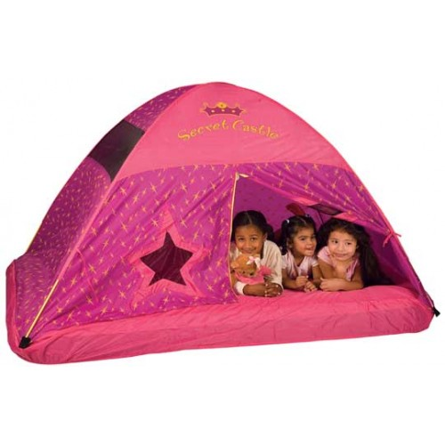 Secret Castle Bed Tent by Pacific Play Tents - Secret-Castle-Bed-Tent  sc 1 st  Best Price Toys & Secret Castle Bed Tent: Pacific Play Tents Kids Bed Tents ...
