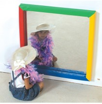 Soft Frame Flat Mirror by Childrens Factory