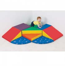 Soft Future Shapers Soft Play Climber by Childrens Factory