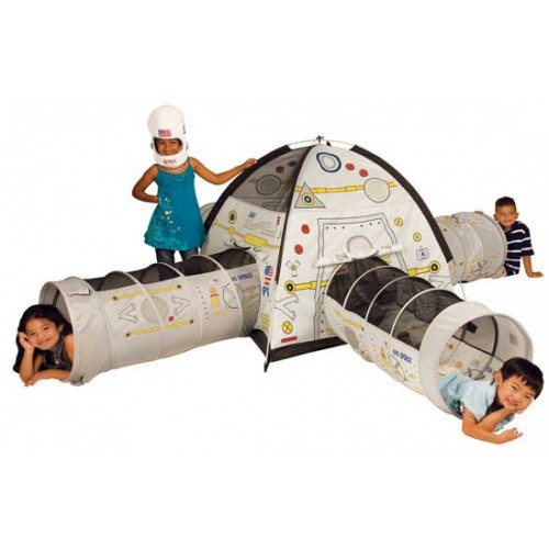 Space Station Play Tent u0026 Tunnel Combo - Space-Station-Combo-Tent.  sc 1 st  Best Price Toys & Space Station Play Tent u0026 Tunnel Combo: Pacific Play Tents Kids ...