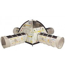 Space Station Play Tent & Tunnel Combo