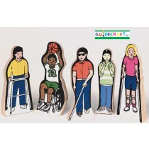 Special Needs Children Set of 5 by Guidecraft