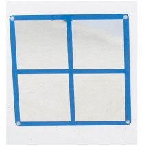 Square Windowpane Mirror by Childrens Factory