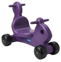 Squirrel Ride On Toy & Walker in One Purple by CarePlay