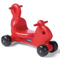 Squirrel Ride On Toy & Walker in One Red by CarePlay