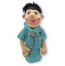 Melissa & Doug Hand Puppet - Surgeon